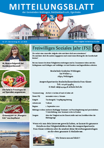 Mitteilungsblatt 27/2020