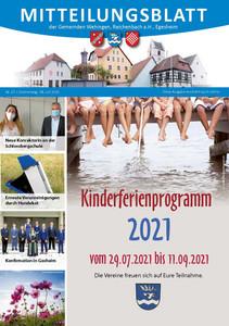 Mitteilungsblatt 27/2021