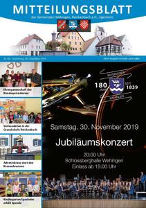 Mitteilungsblatt 48/2019