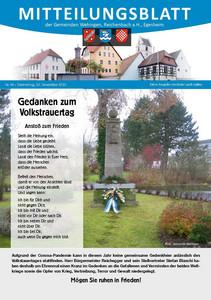 Mitteilungsblatt 46/2020