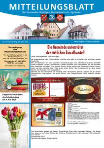 Mitteilungsblatt 17/2020