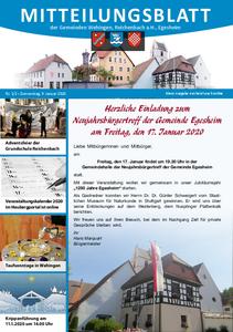 Mitteilungsblatt 1+2/2020