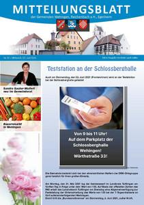 Mitteilungsblatt 22/2021