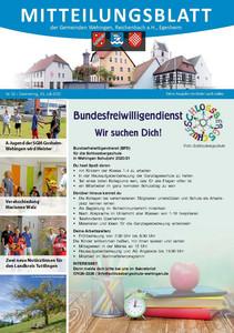 Mitteilungsblatt 30/2020