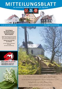 Mitteilungsblatt 20/2020