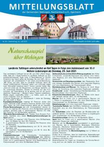 Mitteilungsblatt 26/2021