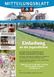 Mitteilungsblatt 28/2020