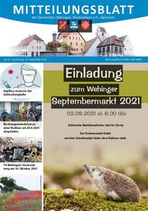Mitteilungsblatt 35/2021