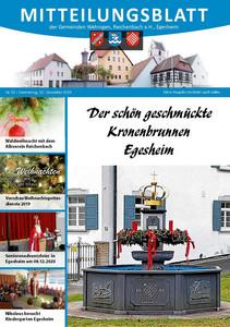 Mitteilungsblatt 50/2019