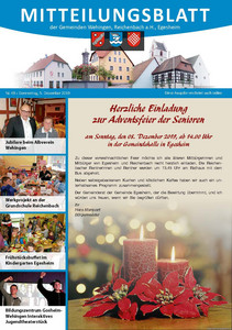 Mitteilungsblatt 49/2019