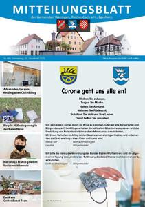Mitteilungsblatt 49/2020