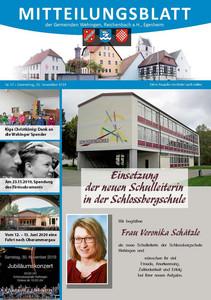 Mitteilungsblatt 47/2019