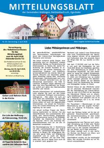 Mitteilungsblatt 14/2020