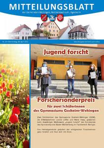 Mitteilungsblatt 14/2021