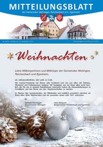 Mitteilungsblatt 52/2020